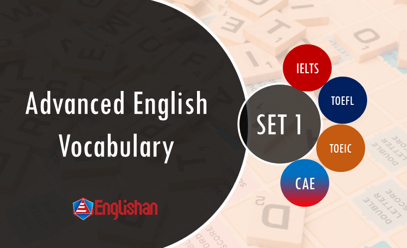 Advanced English Vocabulary for IELTS and Spoken English SET 1