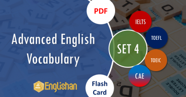 English Words with Printable Flashcards Set 4 PDF  IELTS,TOEFL, TOEIC , GRE ,CSS, UPSC and other language exam.