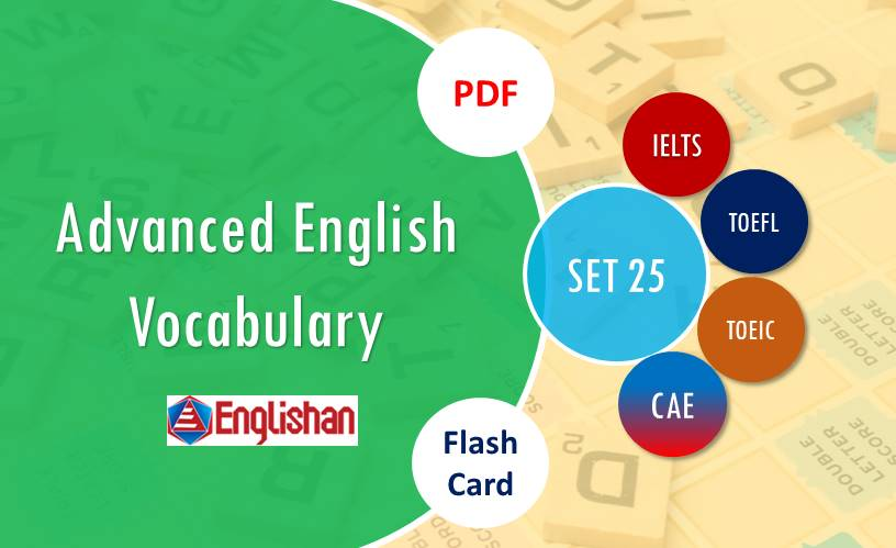 English Vocabulary with Sentence for IELTS-SET 25
