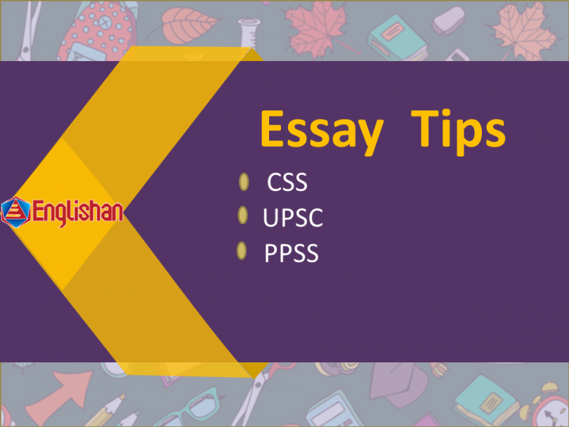 Now you can writer consistently impressive essays.. Simple,practical tips and techniques help to write an essay for CSS, ILETS, TOFLE etc test preparation.