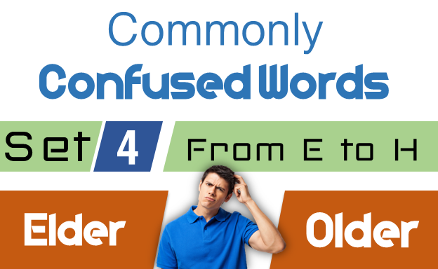 Commonly Confused Words in English with Examples SET 4