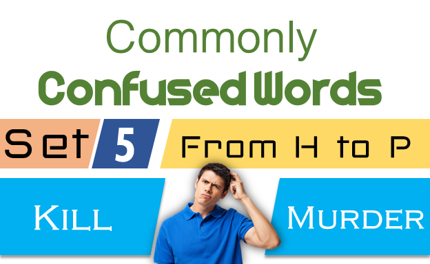 Confused Words with Meanings and Sentences SET 5.These words can be easy to confuse, but learning what they are will help you avoid mistakes.