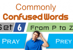 More Confused Words in English for Learner -SET 6.These words can be easy to confuse, but learning what they are will help you avoid mistakes.