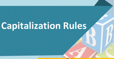 .Here are some capitalization rules help you in writting to show readers the importance of specific words and to indicate changing in meaning.
