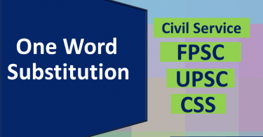 One Word Substitutions for Competitive exam SET 1.This set help you in preparing most important topics in English Comprehension and all Competitive exams.
