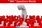 Questions Words | Useful Wh Questions Rules with Examples