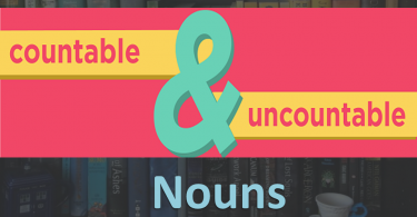 Countable & Uncountable Nouns . Nouns can be countable or uncountable. When you learn a new noun you should know them. These rules help you identified them.