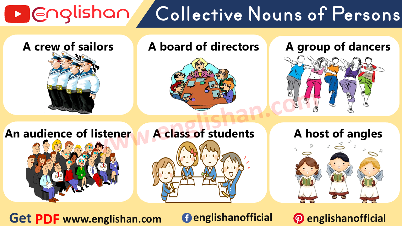Collective Nouns For People