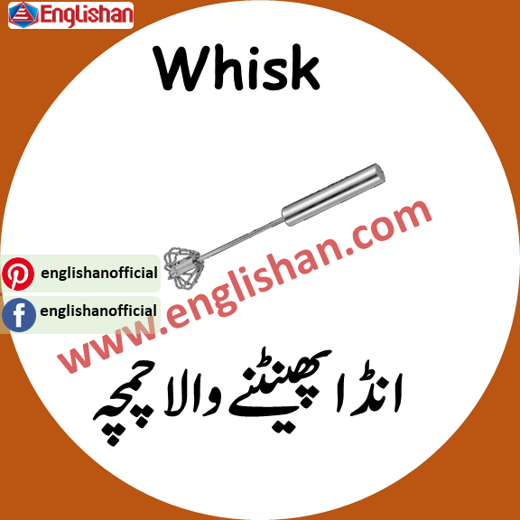 Whisk meaning in urdu