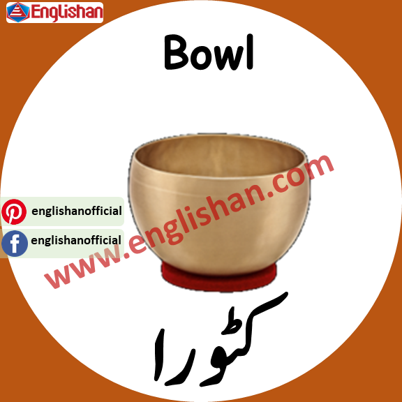 Bowl Meaning in urdu