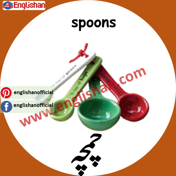spoon meaning in urdu
