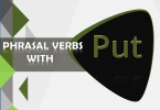 Phrasal Verbs with Put with Sentences and Meanings Download PDF Lesson