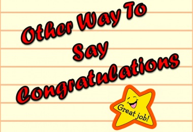Other Way To Say Congratulations| synonyms and related Words | Englishan