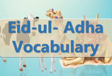 Eid-ul- Adha Vocabulary English to Urdu Free PDF