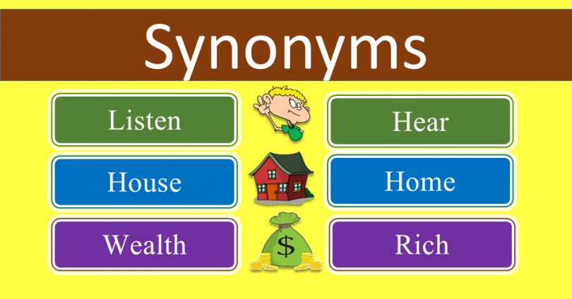 500 Commonly Synonyms List Featured