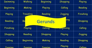 Gerunds Featured