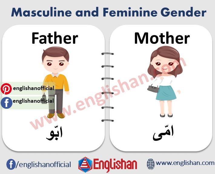 Masculine and Feminine Gender in Urdu