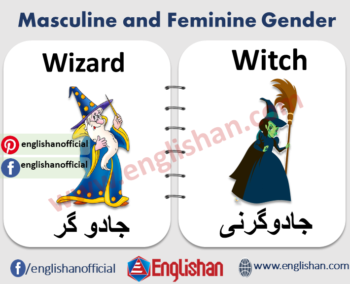 100 Examples of Masculine and Feminine Gender PDF