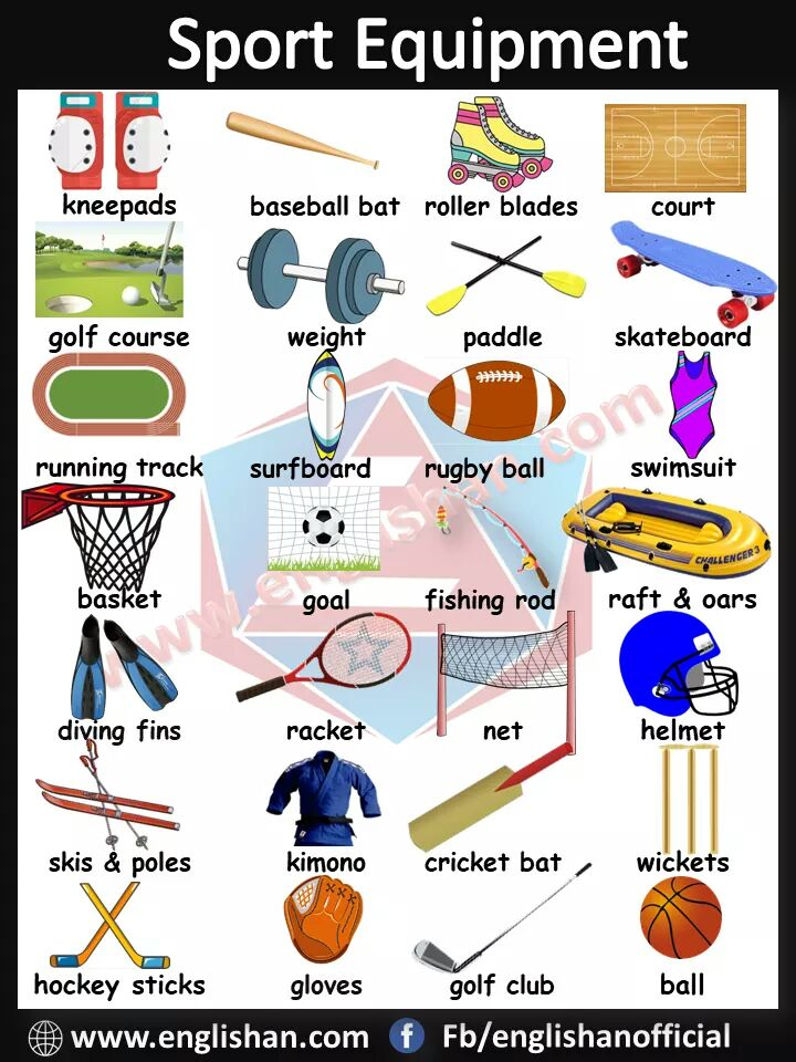 English Picture Vocabulary PDF Sports Vocabulary in English
