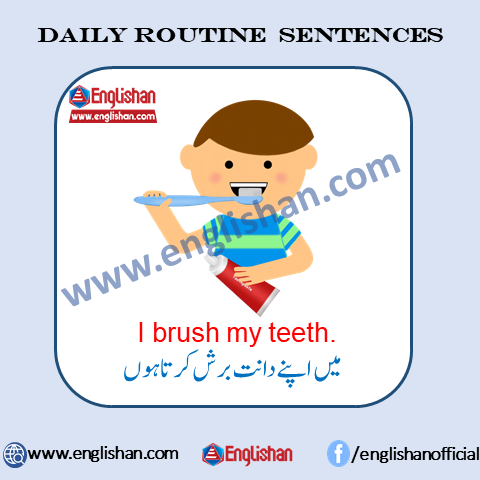 10 Lines on Daily Routine