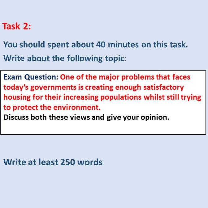 IELTS Essay Questions Sample