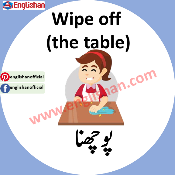 Household Chores Learning English