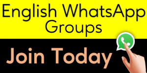 English whatsapp group links for Englishan