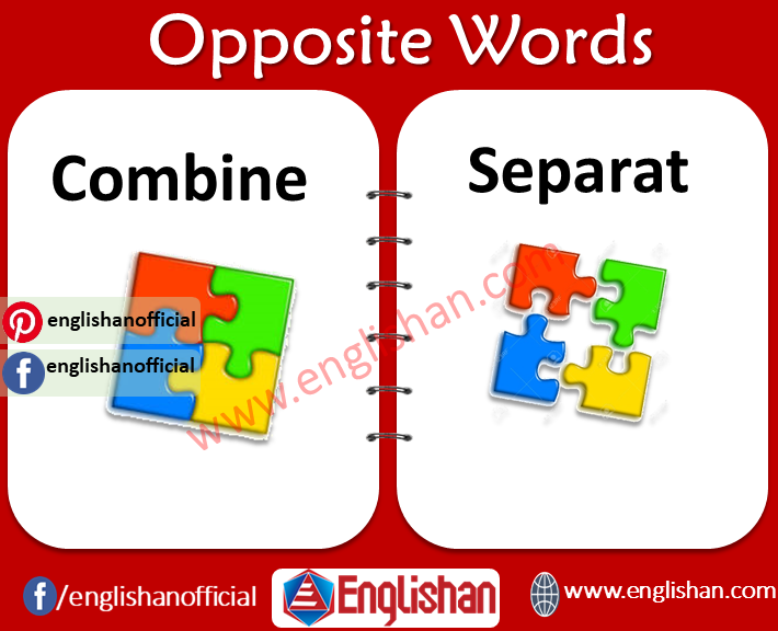 100 Opposite Words List for Kids in English