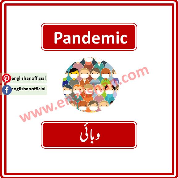 Pandemic Meanings in Urdu | 100 Words List Used for Coronavirus with English to Urdu