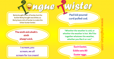 50 Tongue Twisters