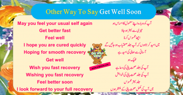 100 Other Way To Say Get Well Soon