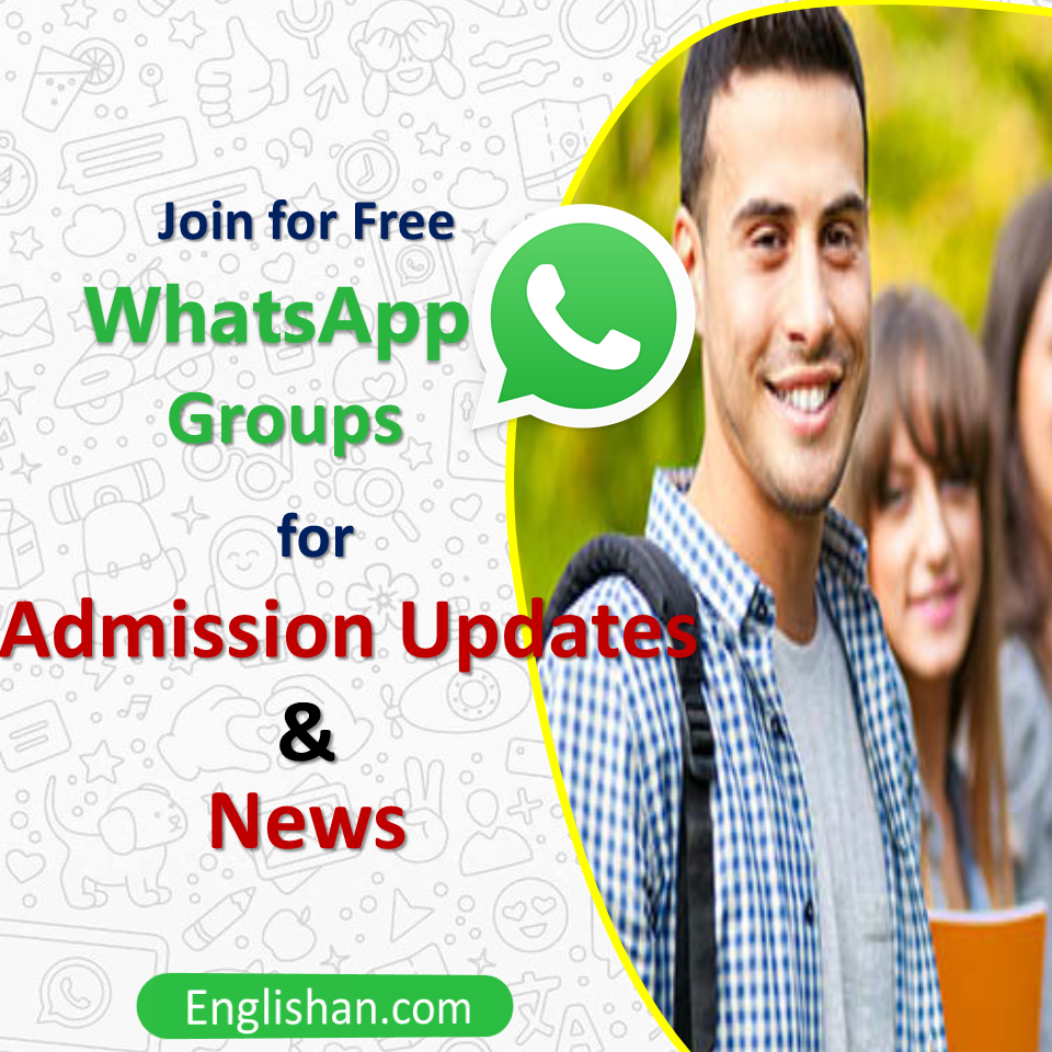 Admission Updates and News Whatsapp Groups