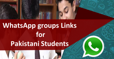 WhatsApp groups Links for Pakistani Students