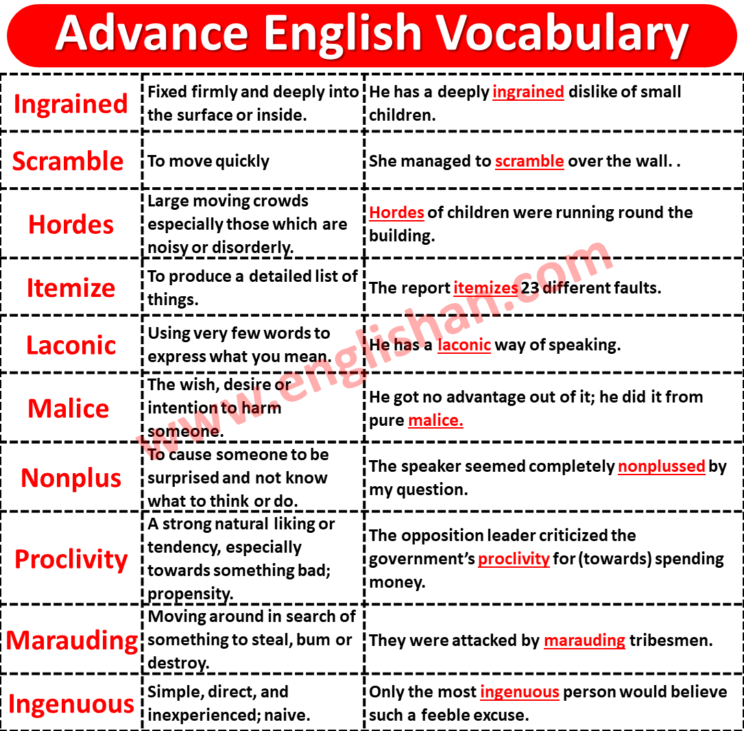 Vocabulary for IELTS Writing Task 2 Band 8