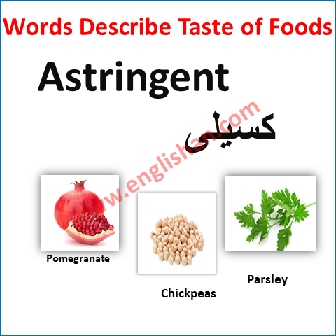 100 Words to Describe FOOD in English