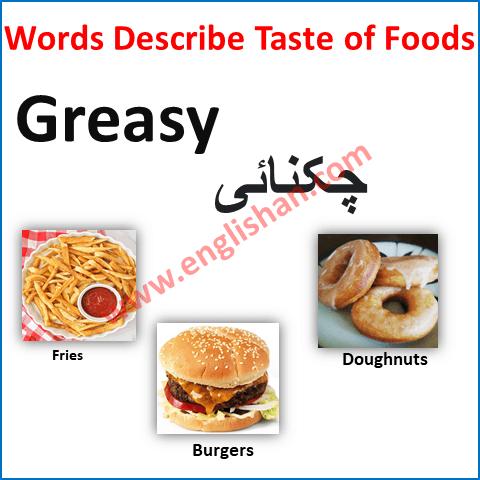 Food Review Vocabulary