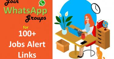 50 WhatsApp Group for Job Update