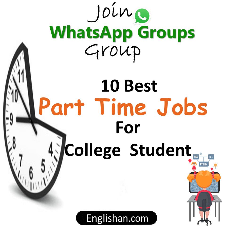Part Time Jobs Alert WhatsApp Groups 2021